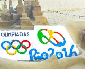 Sand Artist on Copacabana are Phenominal