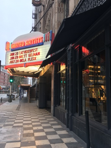 United Artists Theatre just next door
